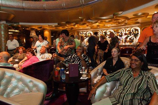 Grandeur of the Seas: '70s Disco Inferno Party on Grandeur of the Seas