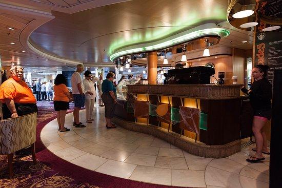 Cafe Latte-tudes on Grandeur of the Seas
