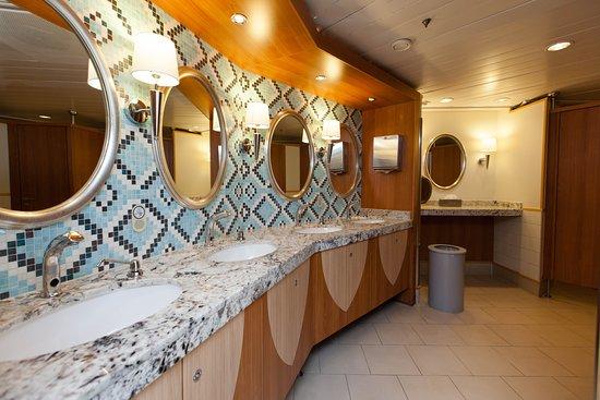Grandeur of the Seas: Restrooms on Grandeur of the Seas