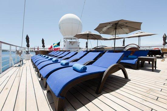The Aft Deck on Wind Spirit