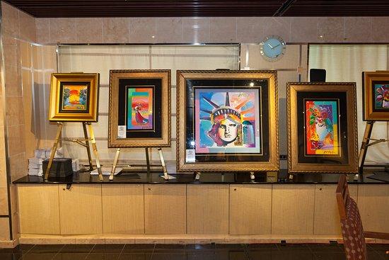 Art Gallery on Carnival Splendor