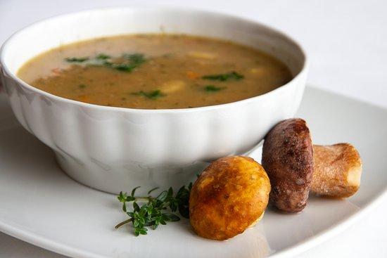 Wellness Hotel Montis: Mushrooms soup