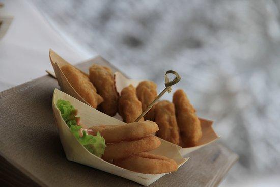 Wellness Hotel Montis: Chicken nuggets