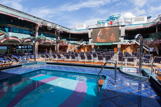 The Pools and Hot Tubs on Carnival Splendor