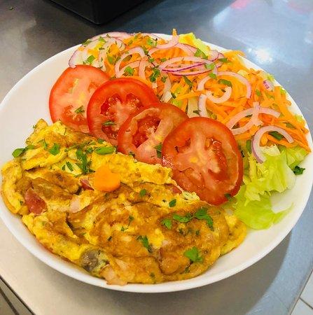 Magg Cafe Copan: Omelete da casa!