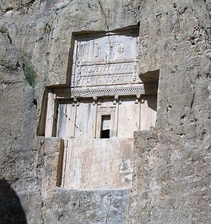 Tomb Of Emperor Xerxes I In The Naqsh E Rostam Necropolis Near Persepolis Picture Of Nagsh E Rostam Persepolis Tripadvisor