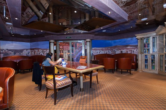 The Alexandria Library on Carnival Splendor