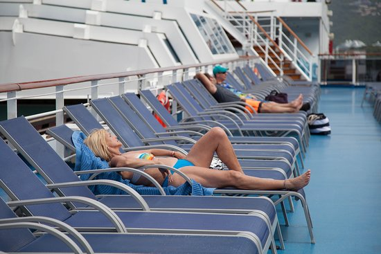 The Sun Decks on Carnival Splendor