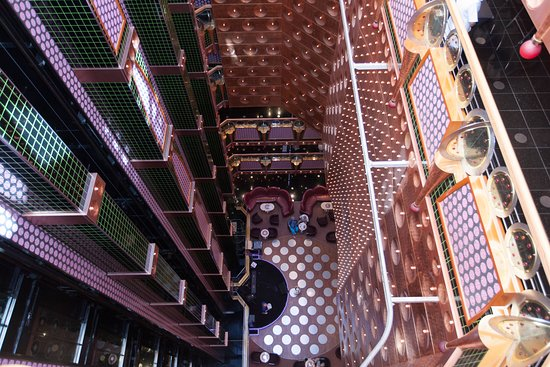 Atrium on Carnival Splendor