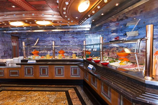 Lido Buffet on Carnival Splendor