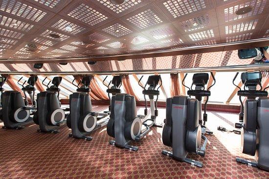 Carnival Dream: Fitness Center on Carnival Dream