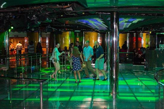 Caliente Nightclub on Carnival Dream