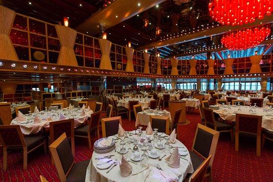 Scarlet Restaurant on Carnival Dream