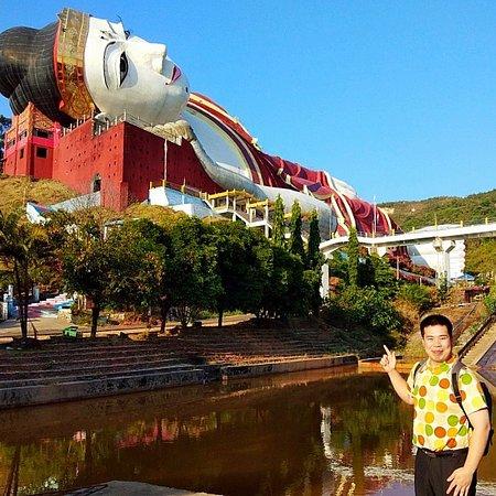 Win Sein Taw Ya - Reclining Buddha Foto