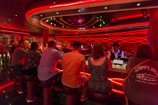 Sam's Piano Bar on Carnival Dream