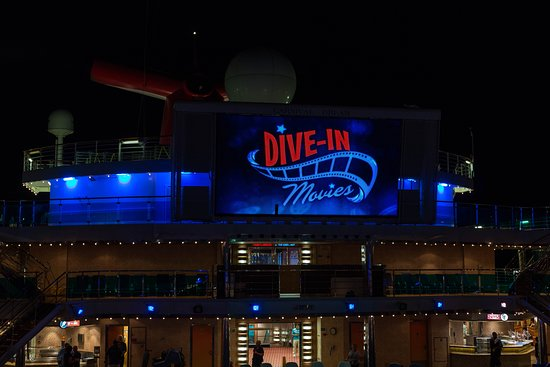 Carnival's Seaside Theater on Carnival Dream