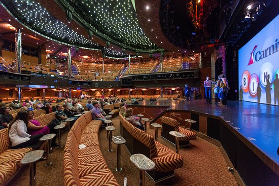 Encore! Main Lounge on Carnival Dream