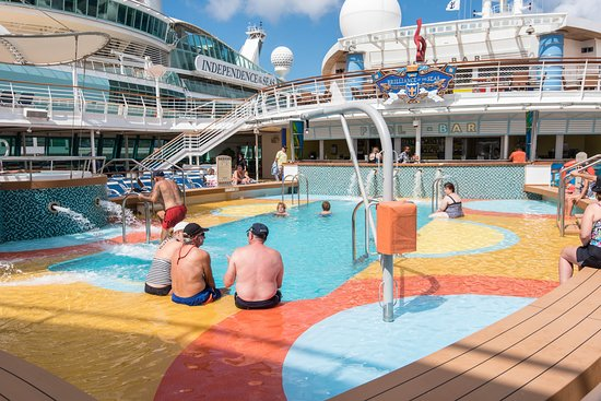 The Main Pool on Brilliance of the Seas