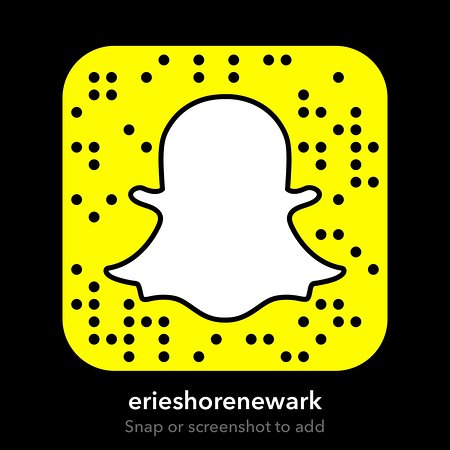 Newark, NY: Add us on snapchat to see all the behind-the-scenes of Erie Shore Landing!