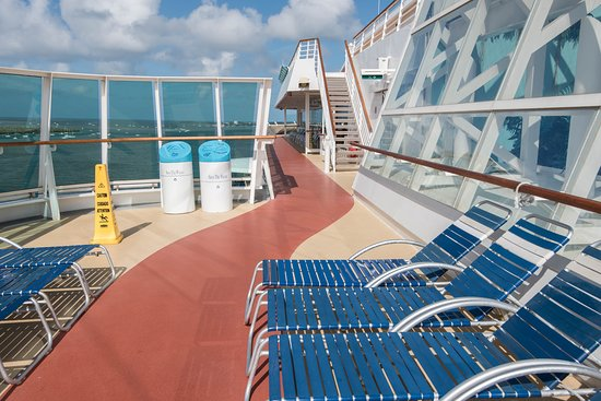 Jogging Track on Brilliance of the Seas