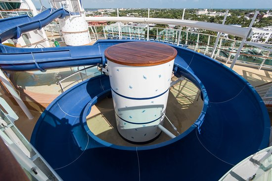 The Water Slide on Brilliance of the Seas
