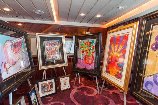 Art Auction on Celebrity Constellation