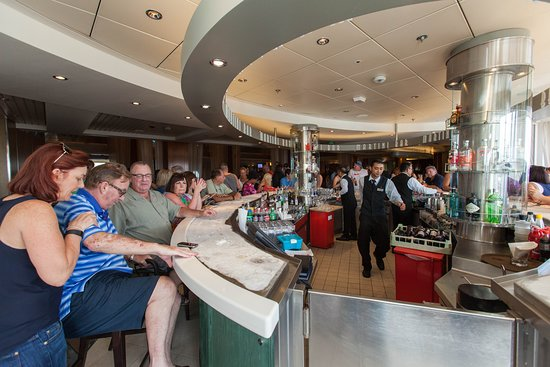 The Martini Bar on Celebrity Constellation