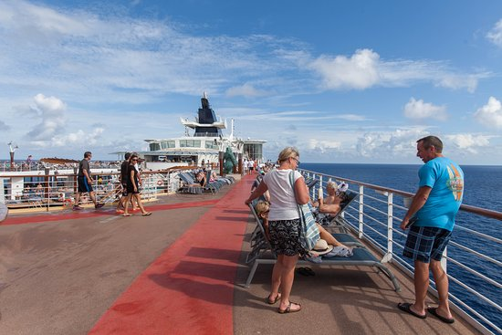 Top Deck and View on Celebrity Constellation