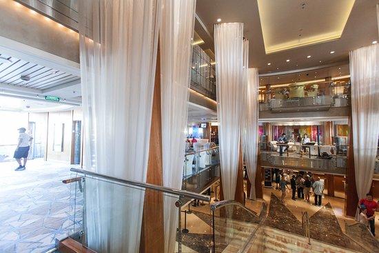 Grand Foyer Atrium on Celebrity Constellation