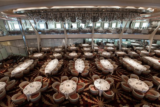 The Silhouette Dining Room on Celebrity Equinox