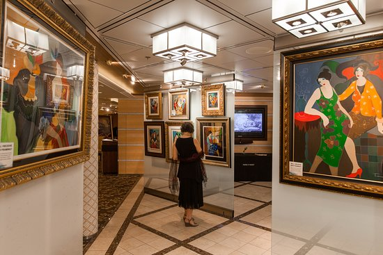 Art Gallery on Celebrity Equinox