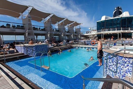 The Main Pool on Celebrity Equinox
