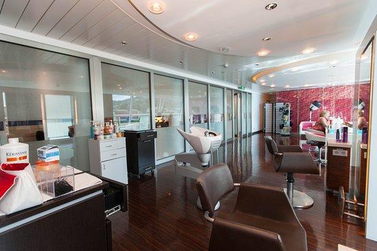 Salon on Celebrity Equinox