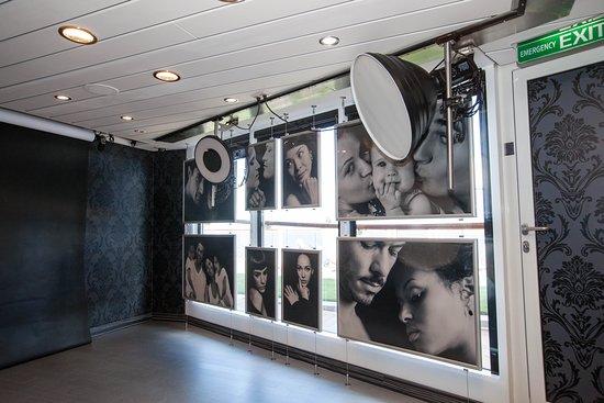 Portrait Fine Art Studio on Celebrity Equinox