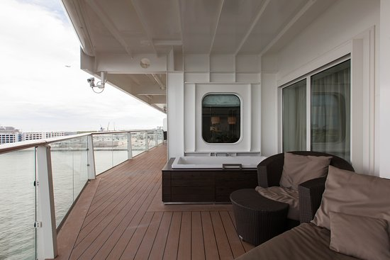 The Penthouse Suite on Celebrity Equinox