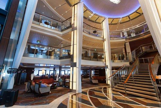 Grand Foyer Atrium on Celebrity Equinox