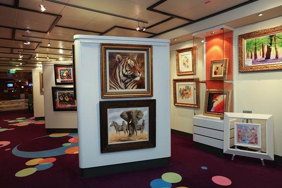 Norwegian Gem: Art Gallery on Norwegian Gem