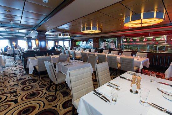 Cagney's Steakhouse on Norwegian Gem