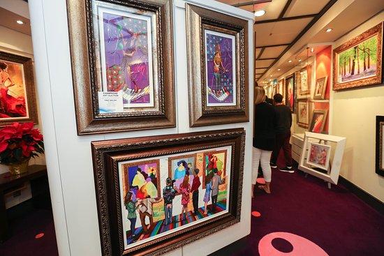 Norwegian Gem: Art Auctions on Norwegian Gem
