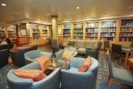 The Library on Norwegian Gem