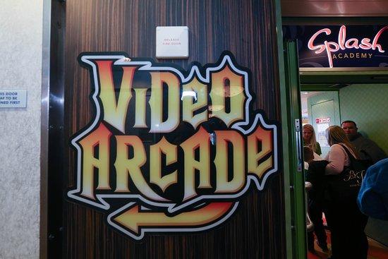 Video Arcade on Norwegian Gem