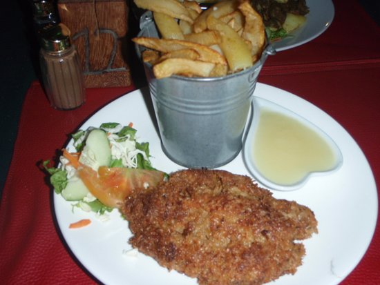 Mosiah's Bar & Restaurant: butterfish and chips