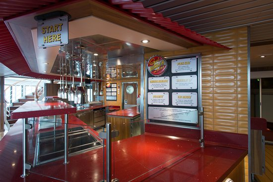 Guy's Burger Joint on Carnival Pride