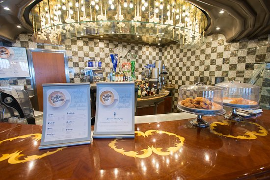 The Piazza Cafe on Carnival Pride