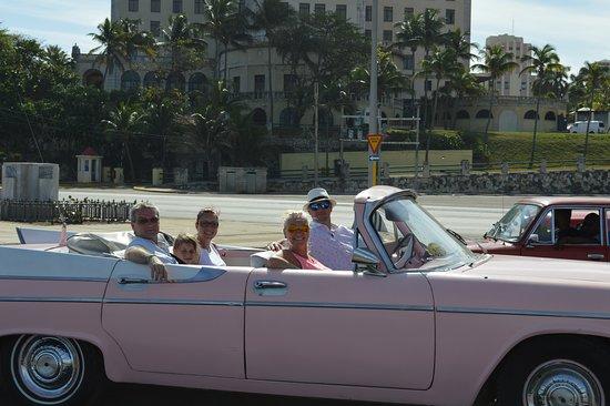 Pink Dodge 1957
