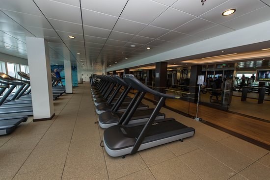 Pulse Fitness on Norwegian Escape