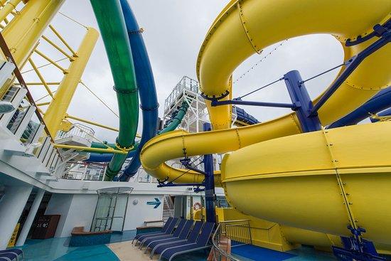 The Aqua Park on Norwegian Escape