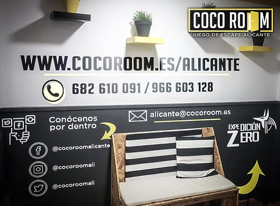 ‪COCO ROOM Alicante Room Escape‬