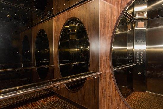 Elevators on Norwegian Epic