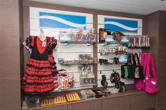 Shops on Norwegian Epic